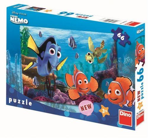 Nemo - puzzle 66 dílků