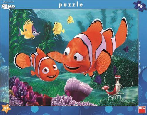 Nemo v bezpečí - rámové puzzle 40 dílků