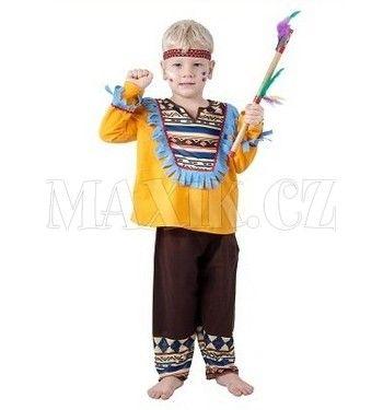 MaDe kostým Malý indián