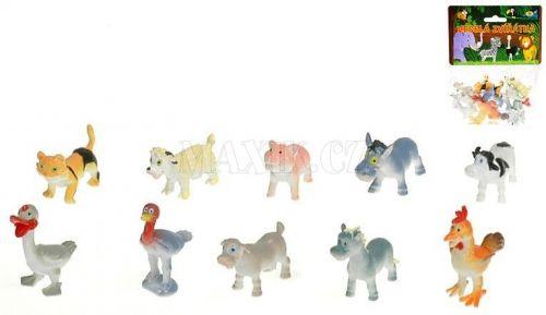 Teddies Zvířátka veselá farma 12 ks cena od 65 Kč