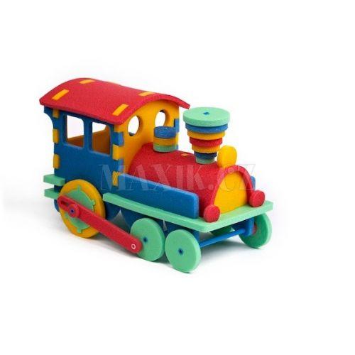 Malý Génius 3D Vláček 47 dílků cena od 225 Kč