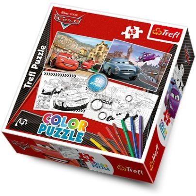 Trefl Puzzle color Cars cena od 188 Kč