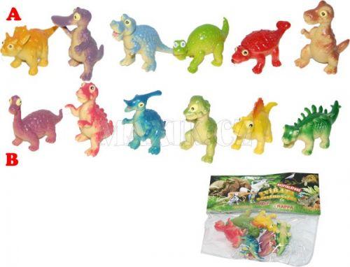 Rappa Dinosauři veselá zvířátka cena od 49 Kč