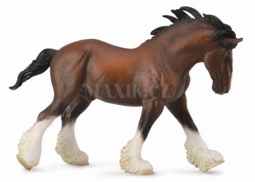 Collecta Clydesdalský kůň hnědý cena od 125 Kč