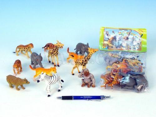Teddies Zvířátka safari mláďata cena od 108 Kč