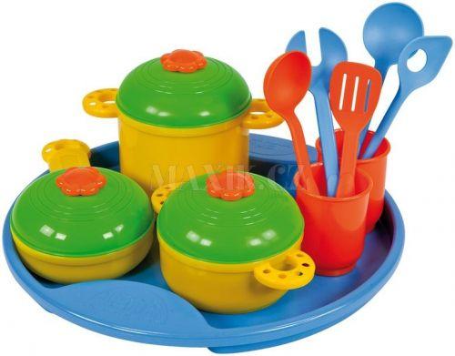 LENA 65135 Sada nádobí na podnose cena od 120 Kč
