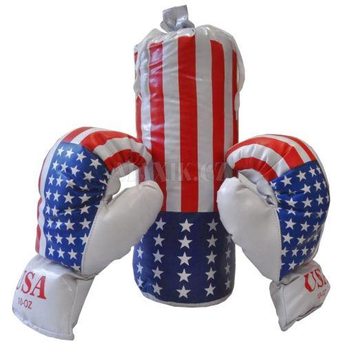 Teddies Boxovací pytel a 2 rukavice cena od 219 Kč
