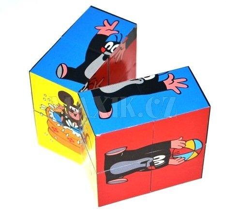 Wiky Kostka Krtek skládací 6x6 cm cena od 41 Kč