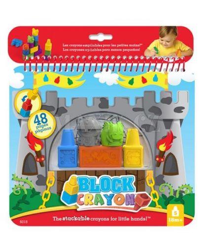 Wooky Block Crayon omalovánky rytíři cena od 112 Kč