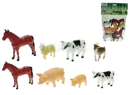 Teddies Zvířátka farma 8-13 cm 8 ks cena od 0 Kč