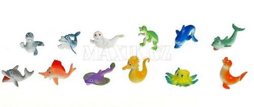 Teddies Zvířátka mořská veselá 5 cm 12 ks cena od 86 Kč