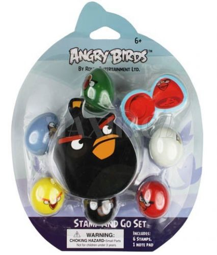 EPline Angry Birds Razítka 6 pack cena od 187 Kč
