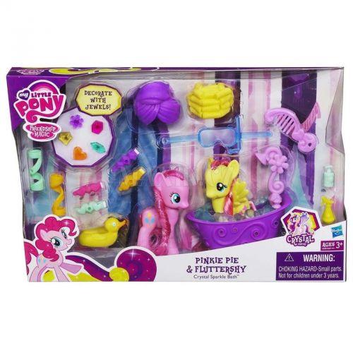 My Little Pony sada s křišťálovými doplňky Pinkie Pie a Fluttershy cena od 599 Kč