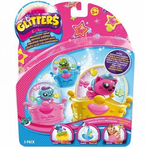 EPline Glitters třpytivá sněžítka Sněžítka s princeznami 3 pack cena od 0 Kč