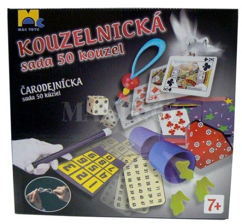 Mac Toys Kouzelnický set 50 kouzel cena od 173 Kč