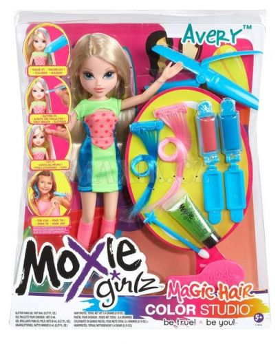Moxie Girlz Magické vlasy 2 Avery cena od 449 Kč