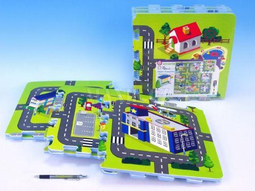 Wiky Pěnové puzzle Město