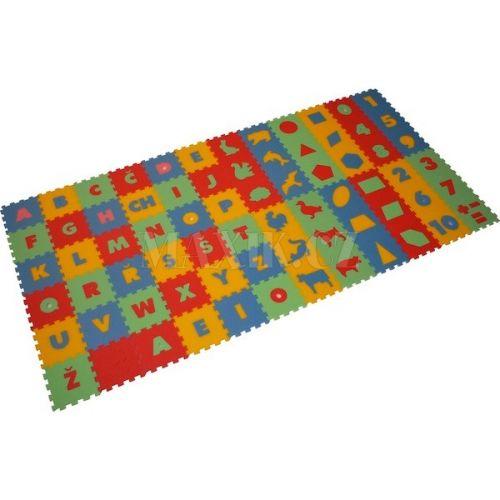 Malý Génius Pěnový koberec 8 mm 72 dílků
