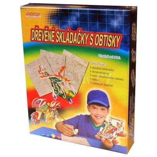 Creatoys Dřevěné skládačky s obtisky cena od 159 Kč