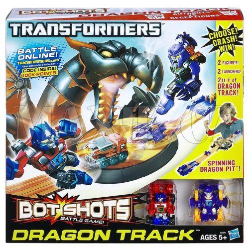 Transformers BOT SHOTS Hrací set s drakem cena od 0 Kč