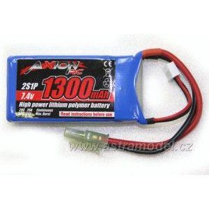 Axion RC LiPol baterie 7.4 V 1300 mAh