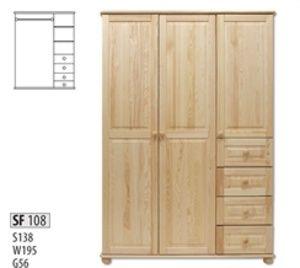 Drewmax SF108 skříň