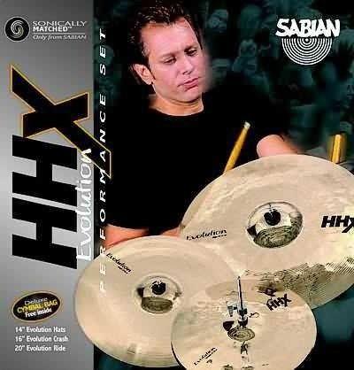 Sabian 15005XEB HHX EVOLUTION PERFORMANCE SET