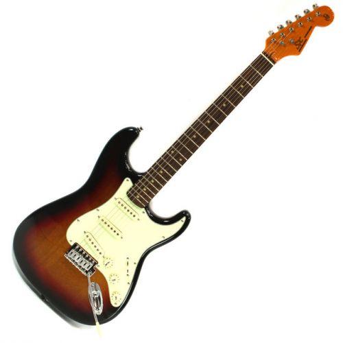 SX Vintage Stratocaster 62 3-Tone Sunburst