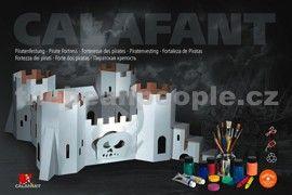 Calafant Kartonový model Pirátská pevnost