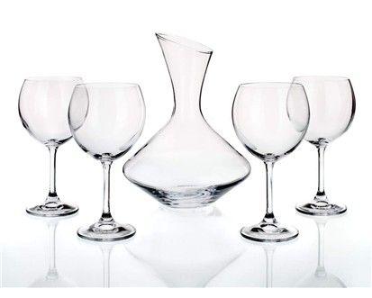 BANQUET CRYSTAL Vínový set 5d. cena od 388 Kč