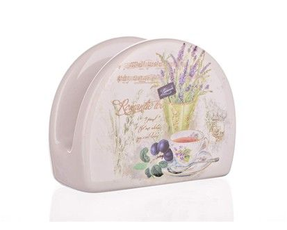 BANQUET Lavender stojánek na ubrousky cena od 50 Kč