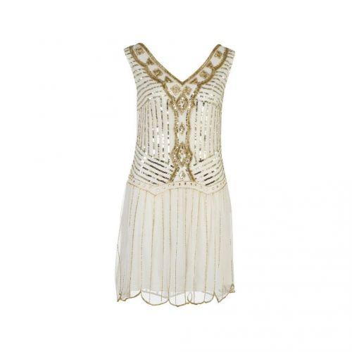 At Republic Flapper Embellished šaty