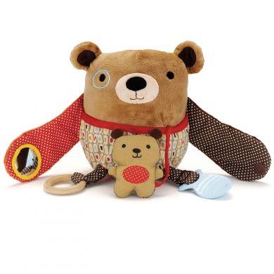 SKIP HOP Treetop Friends Hug & Hide Bear