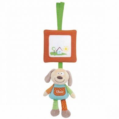 CHICCO Happy Colors Pejsek figurka na zavěšení