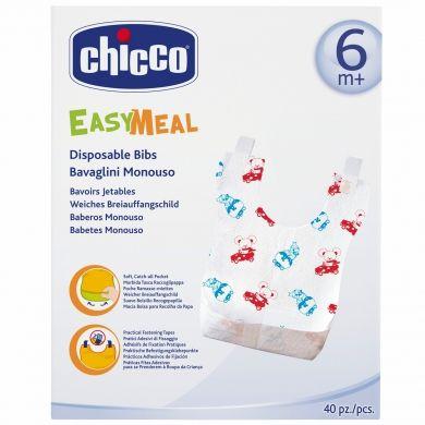 CHICCO Bryndáčky Easy Meal 40 ks 6m+