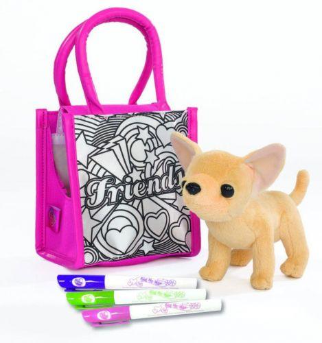 SIMBA ChiChi Love Color Me Mine s taškou k vybarvení cena od 0 Kč
