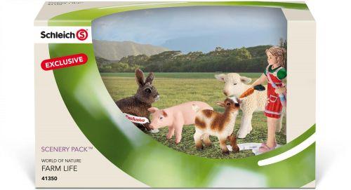 Schleich Farmářská zvířátka mláďata cena od 0 Kč