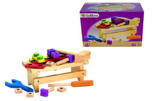 Eichhorn Dřevěný pracovní stolek