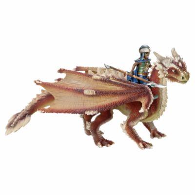 Schleich Mladý drak s jezdcem cena od 804 Kč