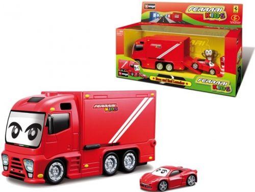BBurago Ferrari Kids Truck se zvukem cena od 399 Kč