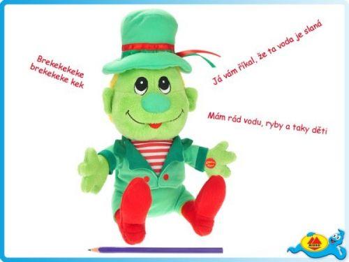 Mikro hračky Vodník Pepa plyšový 32 cm cena od 369 Kč
