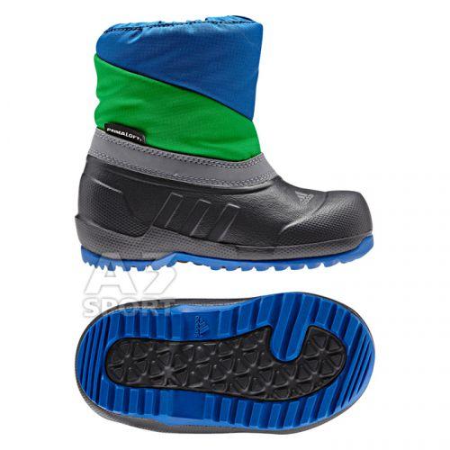 7d2ca2a684e Dětská obuv adidas. Extrémně lehká a přitom odolná chlapecká zimní obuv.  Syntetický materiál Primaloft nabízí vynikající hřejivé účinky.