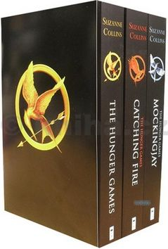 XXL obrazek Collins Suzanne: The Hunger Games Trilogy Classic Box Set