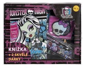 Mattel: Monster High Knížka + 2 skvělé dárky cena od 0 Kč