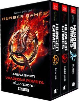 Suzanne Collins: Hunger Games - 3 knihy v dárkovém boxu cena od 476 Kč