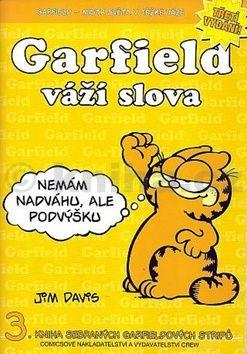 Jim Davis: Garfield váží slova cena od 70 Kč
