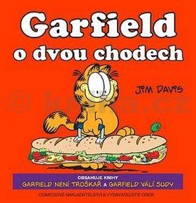 Jim Davis: Garfield o dvou chodech cena od 262 Kč