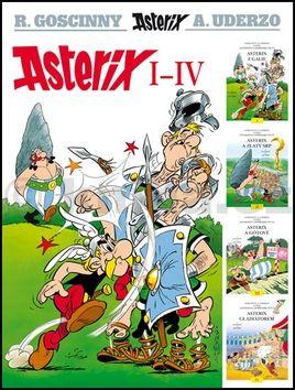 René Goscinny: Asterix I-IV cena od 287 Kč