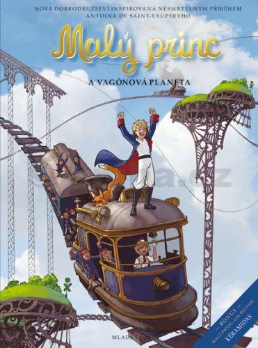 Exupéry Antoine de Saint: Malý princ a Vagónová planeta cena od 157 Kč