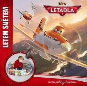 Walt Disney: Letadla - Letem světem - velké leporelo cena od 43 Kč